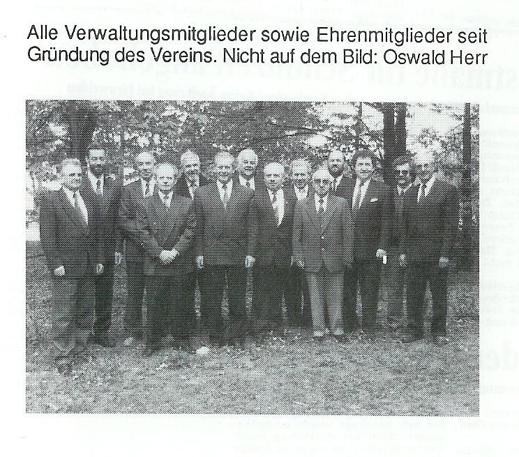 Jubiläum 1991