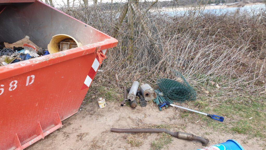 Müllsammelaktion 2021